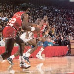 88 All-star game Drexler Magic Jordan