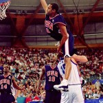 Vince Carter sur Fred Weis