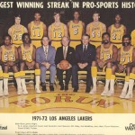 Los Angeles Lakers 71/72 33 victoires consécutives