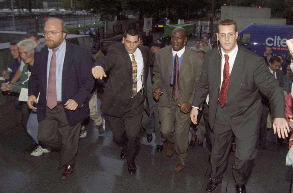 Michael Jordan à Canal 1997