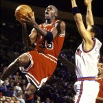 Michael Jordan 1995 - 55 points
