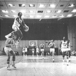 Darrell Griffith dunk over a player