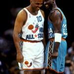 Charles Barkley and Michael Jordan 1996 NBA All-Star Game