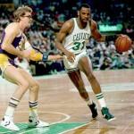 Cedric Maxwell et Kurt Rambis 1984