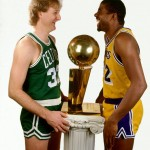 Larry Bird et Magic Johnson
