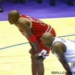 NBA Finals 1997 G4 Bulls Jazz Jordan Russell