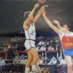 Jacques Monclar poster Maxi-basket 1984
