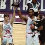 Karl malone Stockton MVP ASG