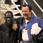 Michael Jordan & Coluche 1985