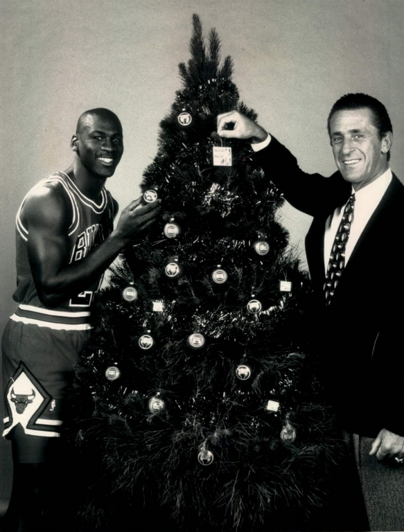 Christmas Noël Michael Jordan & Pat Riley
