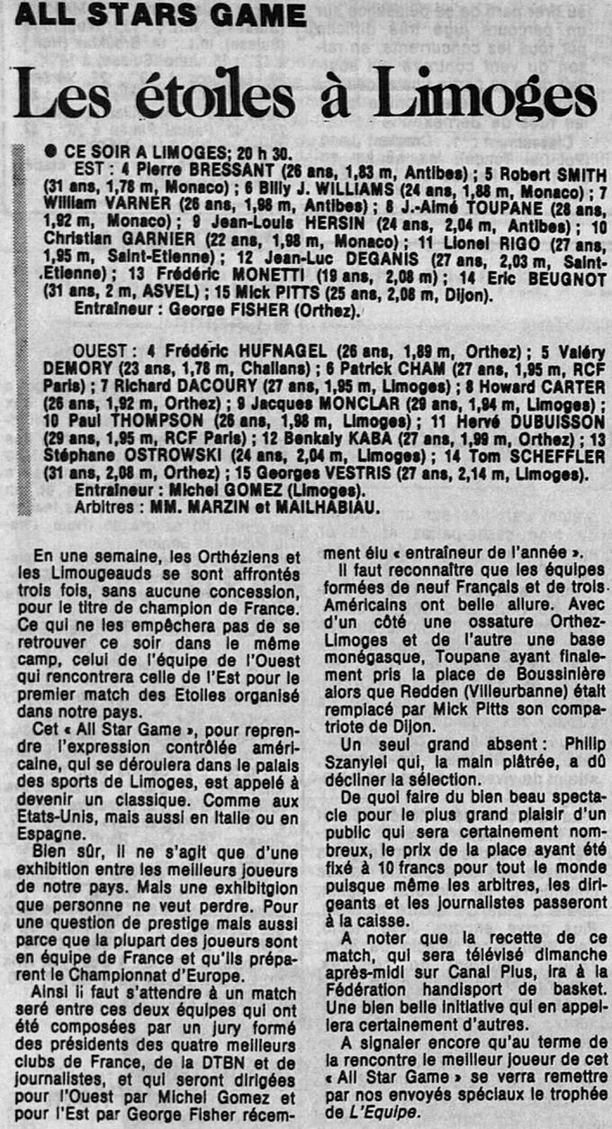 lequipe 6 mai 1987