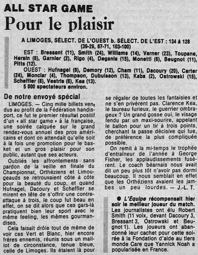 lequipe 7 mai 1987