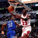 Michael Jordan O'Neal Game 3 ESF 95