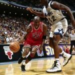 Michael Jordan & Shaquille O'neal, Orlando, 1995
