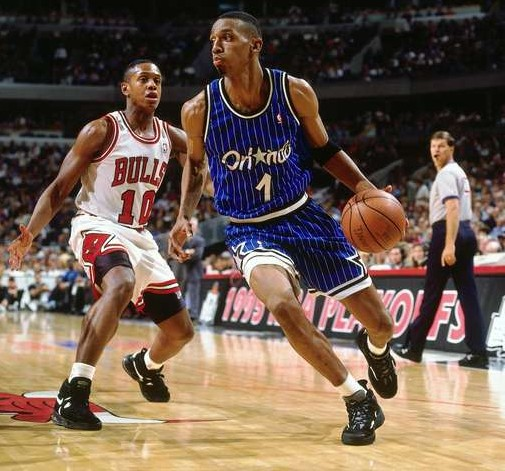 Penny Hardaway BJ Armstrong Game 3 ESF 1995
