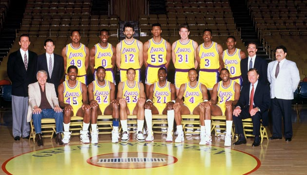 Lakers 1989-1990