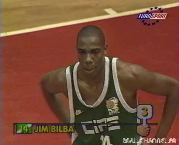 Jim Bilba ASVEL 1997 Euroligue
