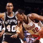 1990 Blazers vs Spurs Game 7 Clyde Drexler