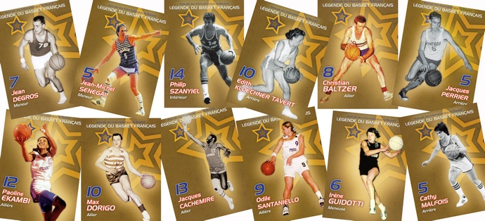 Cartes Légendes du basket