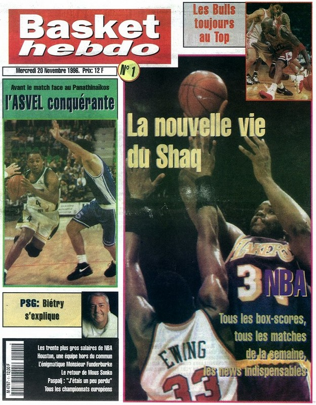 BasketHebdo N°1 - 1996