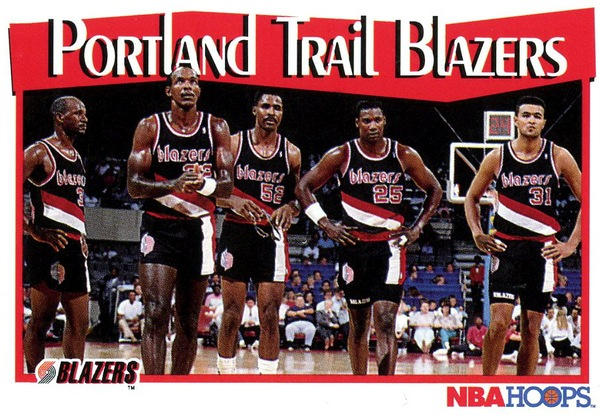 Blazers Portland 1991-1992 Hoops