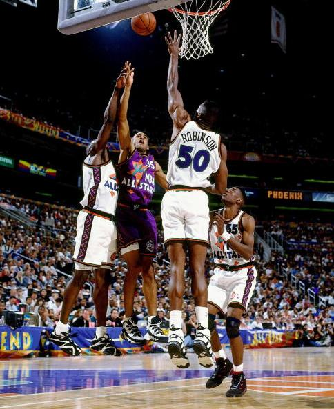 Grant Hill All-Star Game 1995