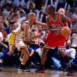 Reggie Miller vs Michael Jordan, ECF 1998 Game 6