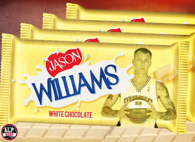 Jason Williams white chocolate