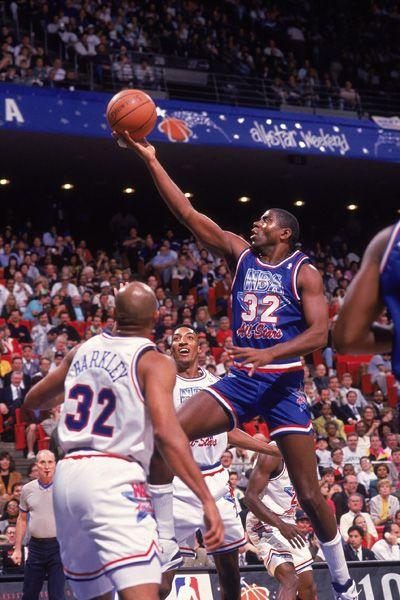 Magic Johnson All-Star game 1992