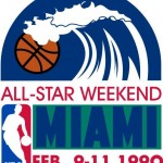 1990 NBA All-Star Game logo
