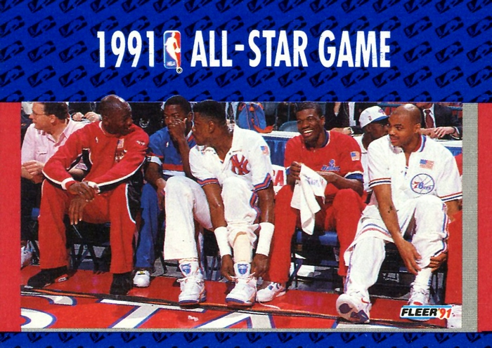 1991 All-Star Game - Fleer