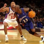 Michael Jordan 30 octobre 2001 New York Knicks 3