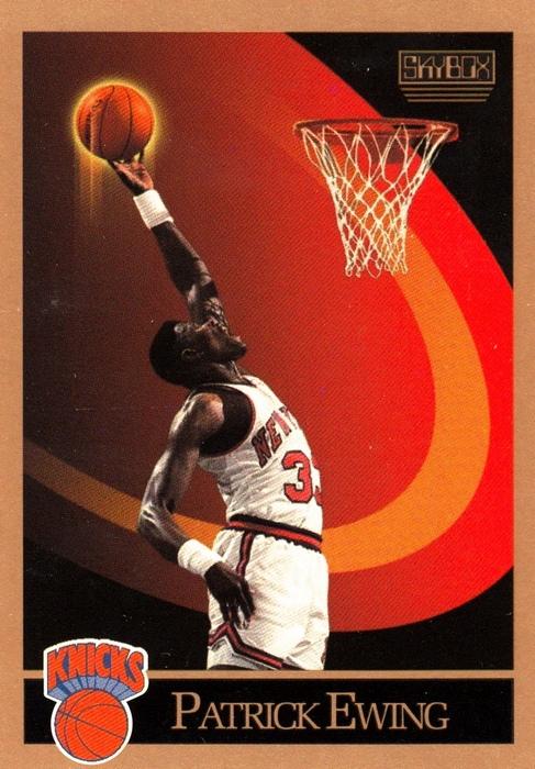 Pat Ewing Skybox 90-91