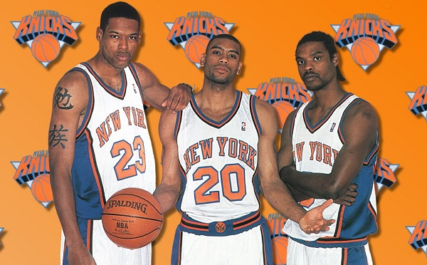Camby Houston Sprewell Knicks