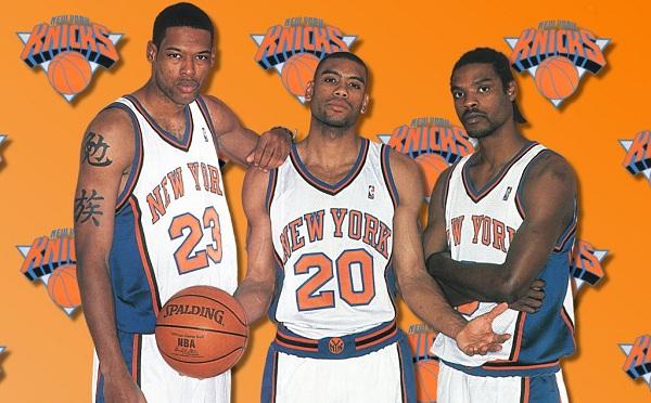 Camby Houston Sprewell Knicks