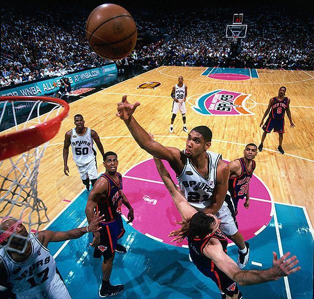 June 16, 1999. Spurs vs. Knicks, Game 1