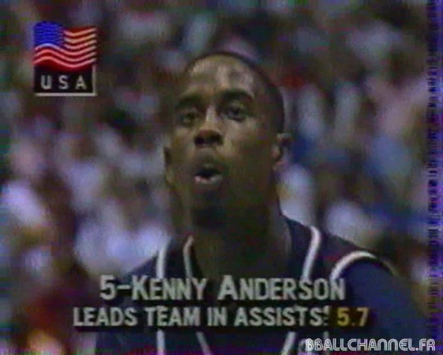 Kenny Anderson 1990 USA Goodwill Games