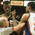 Marcus Camby vs David Robinson - 1999 - Finales NBA - Game 5