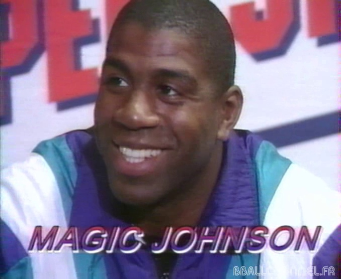 Magic Johnson, Helsinki, 1993
