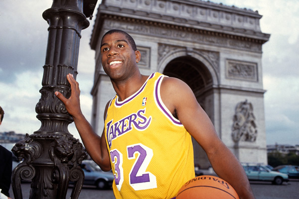 Magic Johnson - Open McDonald - Paris 1991