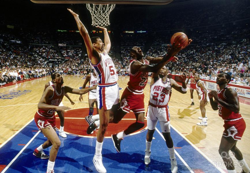 Chicago Bulls – Detroit Pistons, 1990   BBALLCHANNEL