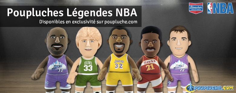 Poupluches Légendes NBA