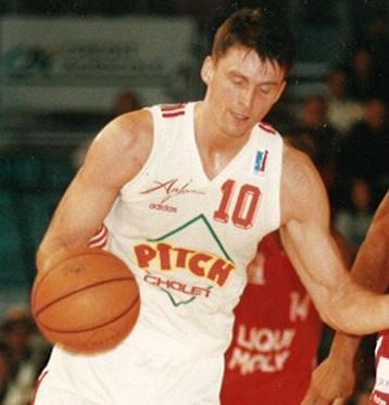 Arturas Karnishovas, le leader de cette jeune équipe de Lituanie