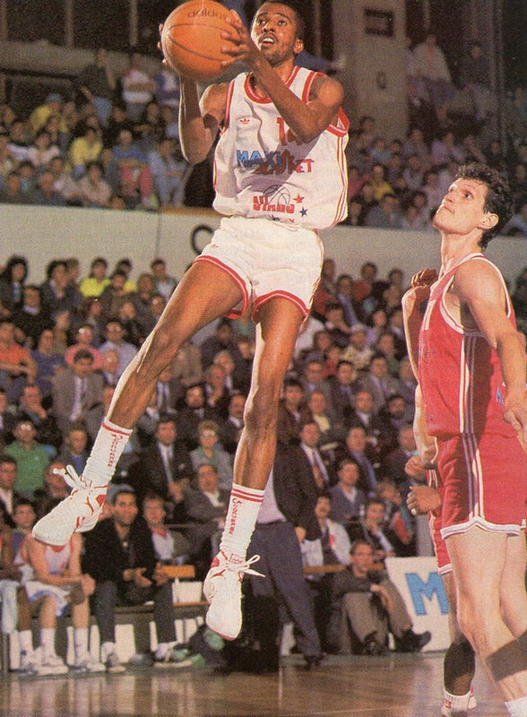 Graylin Warner - All-Star Game LNB 1988