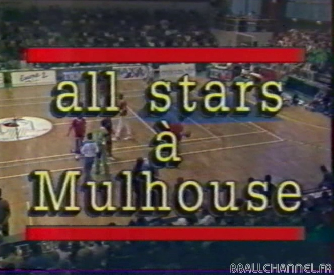 All-Star Game français 1988 à Mulhouse