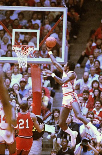 Clyde Drexler, Université de Houston, 2 avril 1983