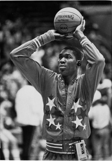 Akeem Abdul Olajuwon - 1983, Université de Houston