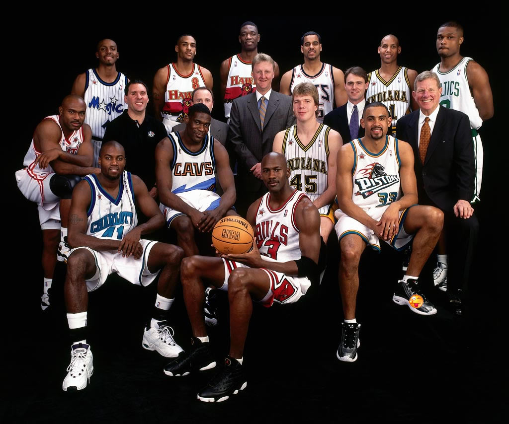NBA All-Star Game 1998, sélection EST