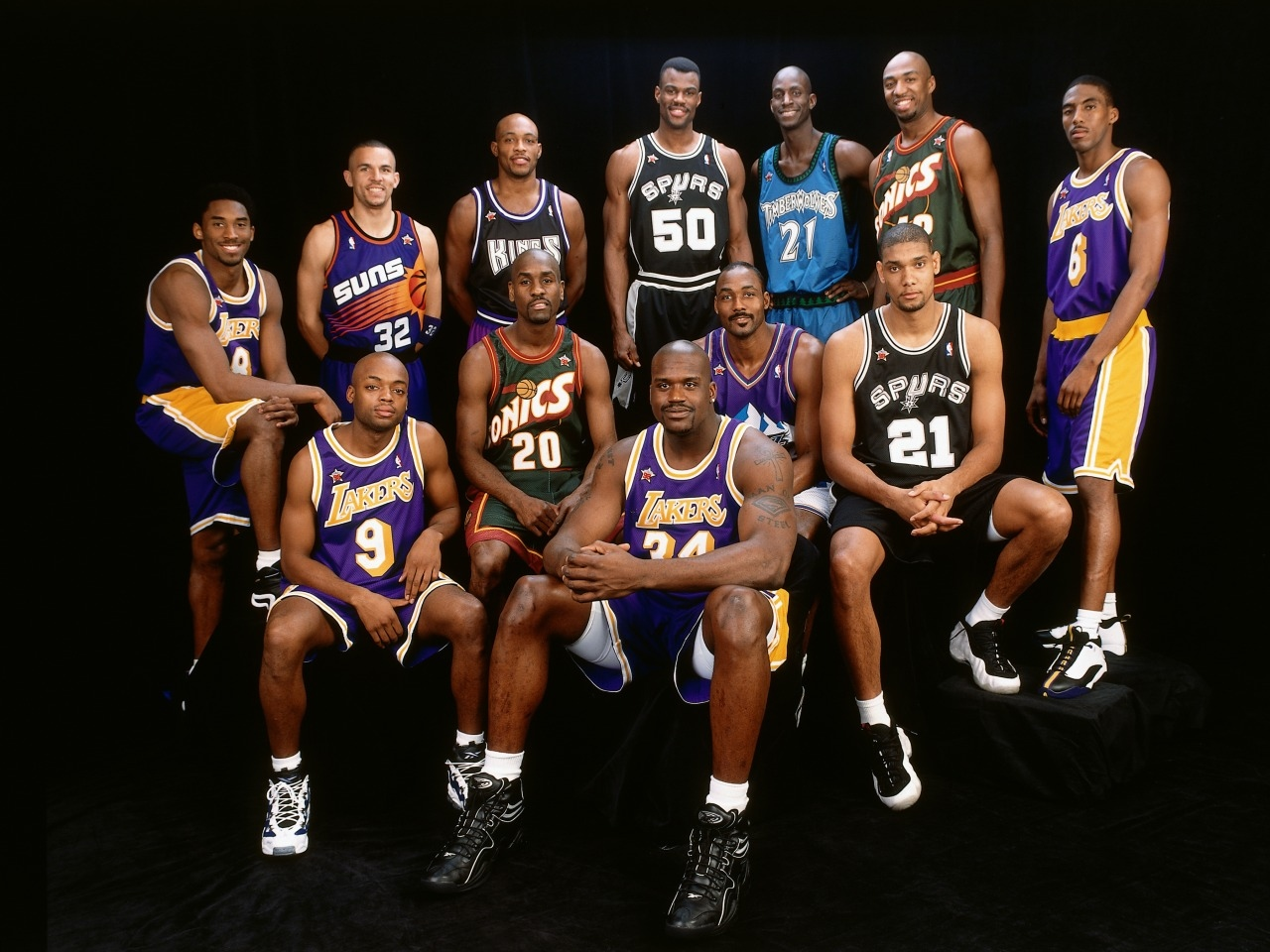 NBA All-Star Game 1998, sélection Ouest