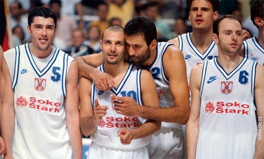 Les Plavi de Danilovic, Djordjevic & Divac en opération redemption